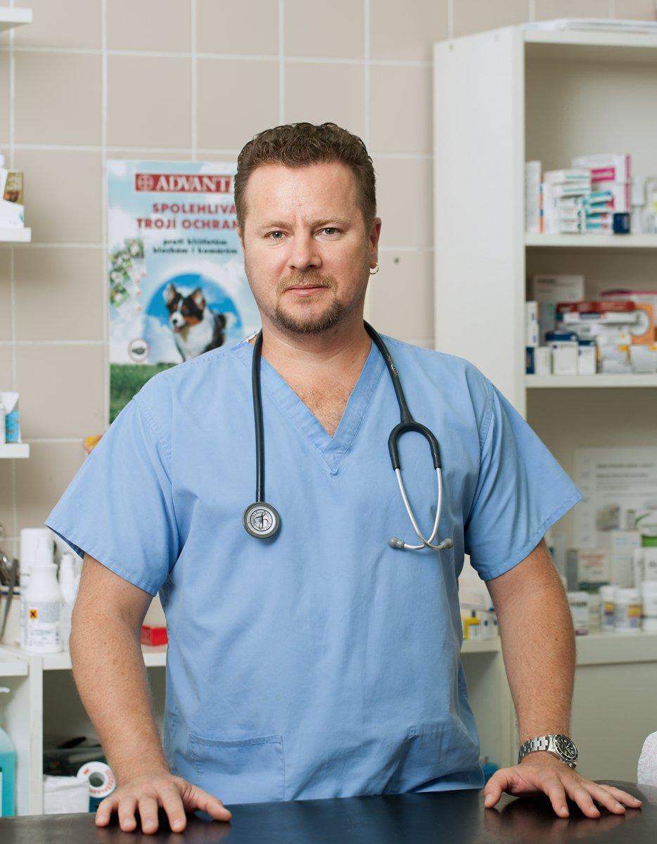 Vedoucí lékař naší kliniky - MVDr.Fedir Dovgych